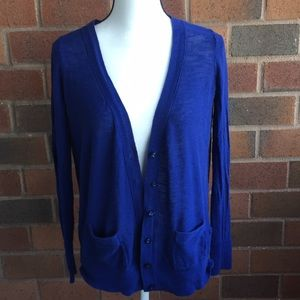 2 cardigans from a.n.a gently used size medium